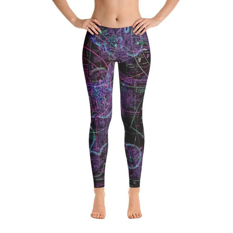 New Orleans Sectional Leggings (Inverted)