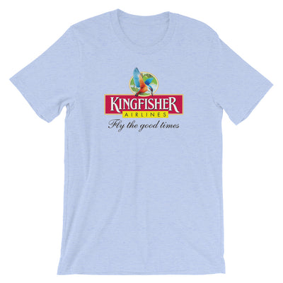 Retro Kingfisher Airlines T-Shirt