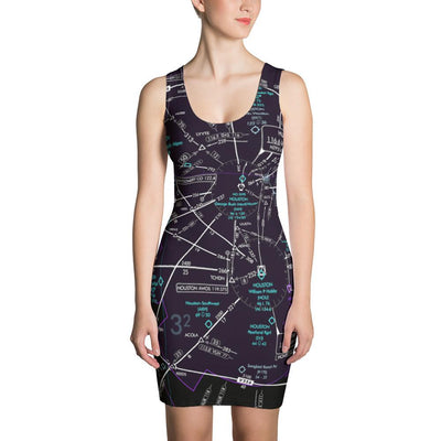 Houston Low Altitude Dress (Inverted) - RadarContact - ATC Memes