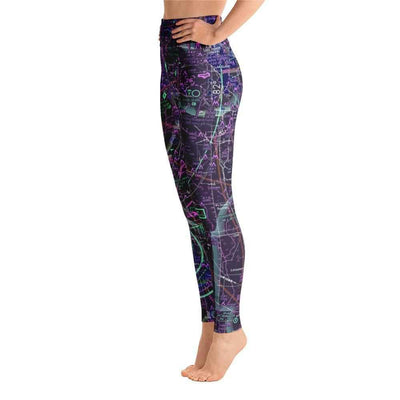 Tampa Sectional Yoga Leggings (Inverted) - RadarContact