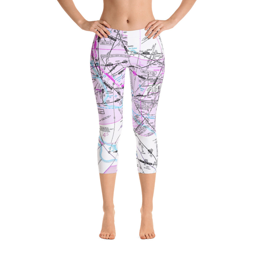 Los Angeles Low Altitude Capri Leggings