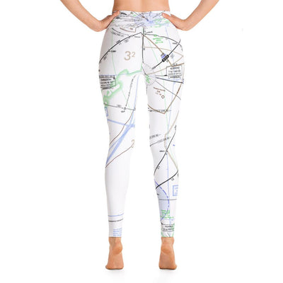 Charleston Low Altitude Yoga Leggings - RadarContact - ATC Memes
