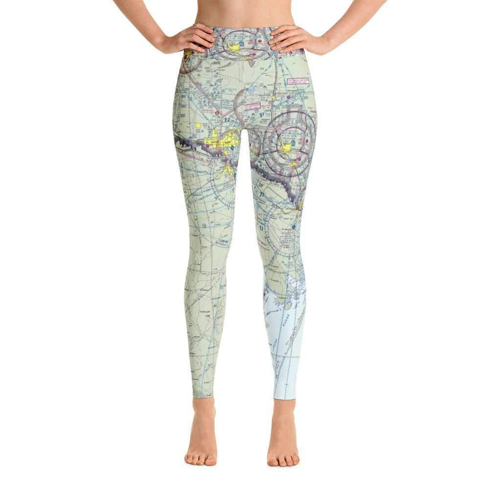 Brownsville Sectional Yoga Leggings - RadarContact - ATC Memes