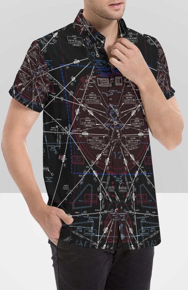 Make Your Own Men's Airspace Short Sleeve Shirt