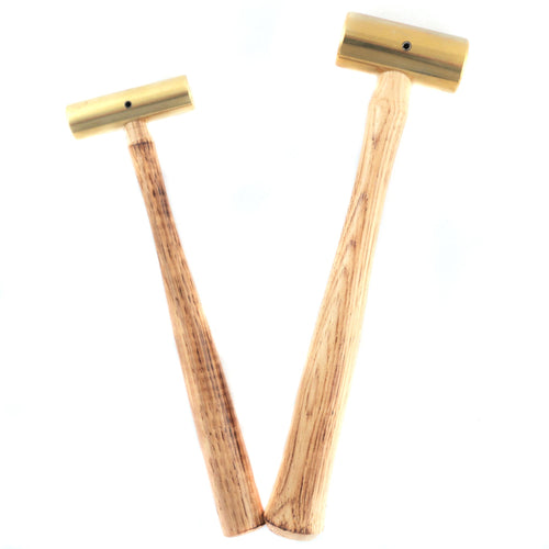 Type BH polished brass hammers