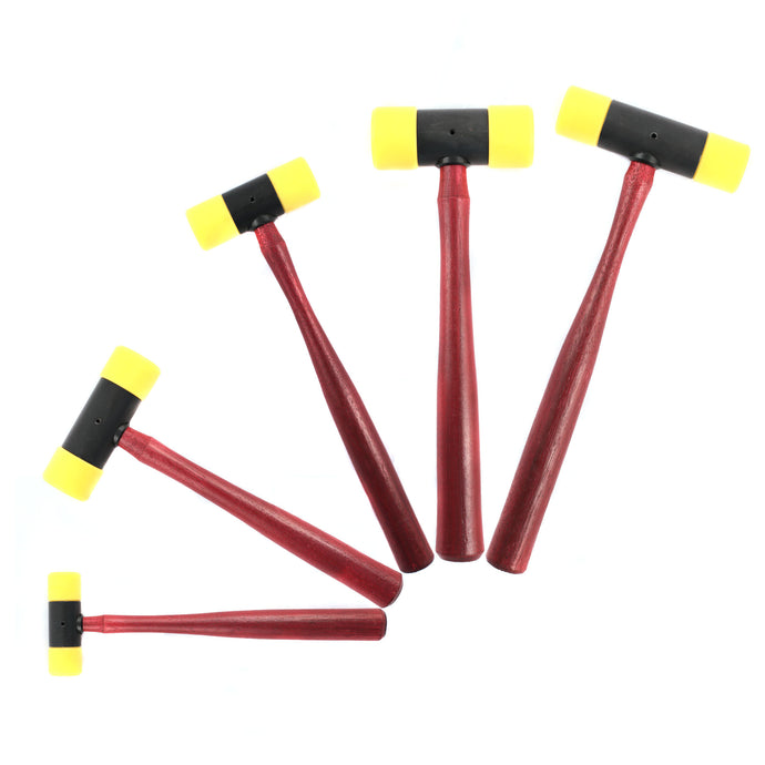 Replaceable tip hammers with hickory handles