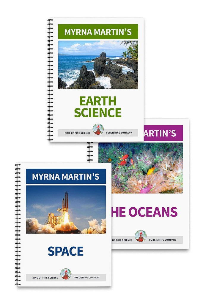 Basic Earth Science Book Package - Kids Fun Science Bookstore