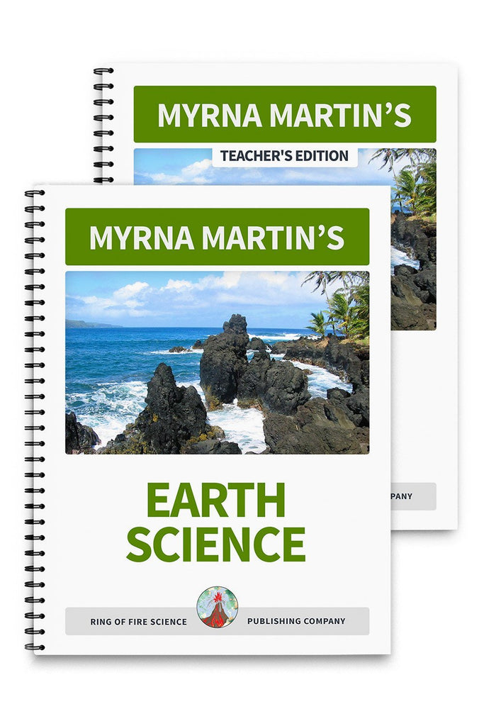 Earth Science Book Plus Teacher's Edition - Kids Fun Science Bookstore