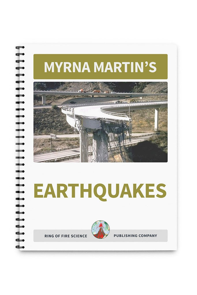 Earthquakes Book by Myrna Martin - Kids Fun Science Bookstore