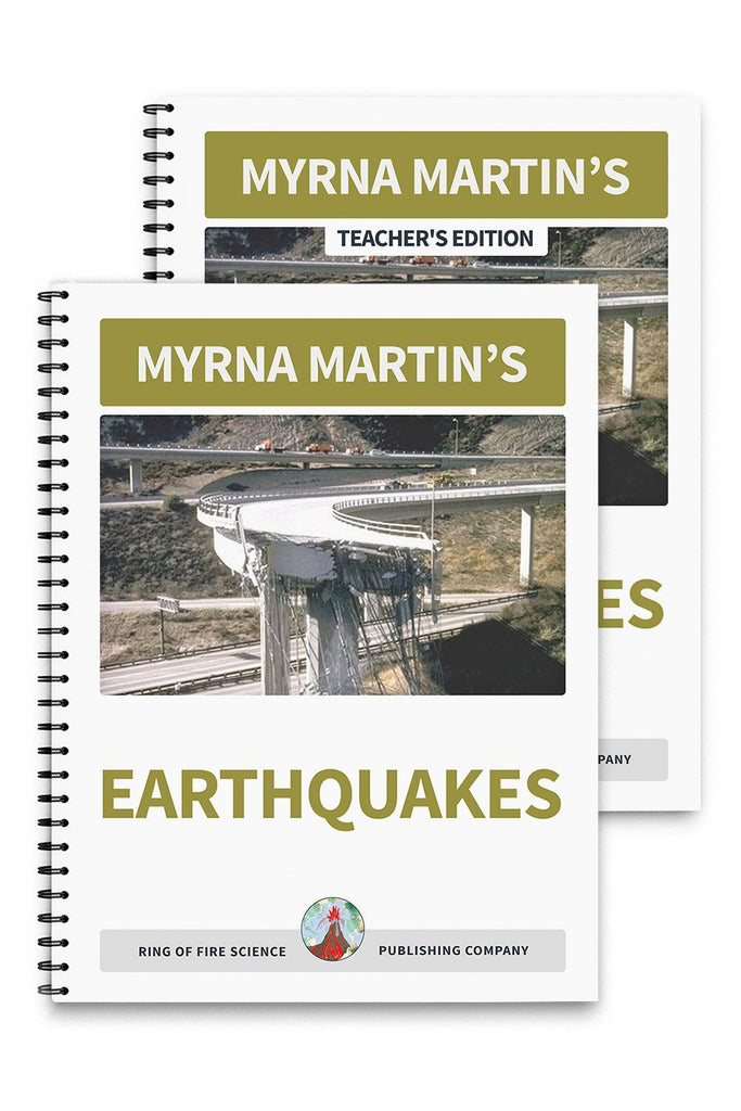Earthquakes Book Plus Teacher's Edition - Kids Fun Science Bookstore