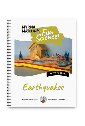 Fun Activity Book - Earthquakes - Kids Fun Science Bookstore