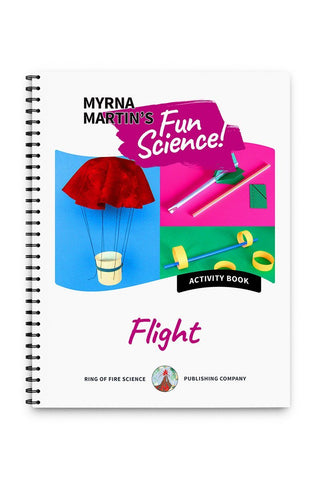 Fun Activity Book - Flight - Kids Fun Science Bookstore