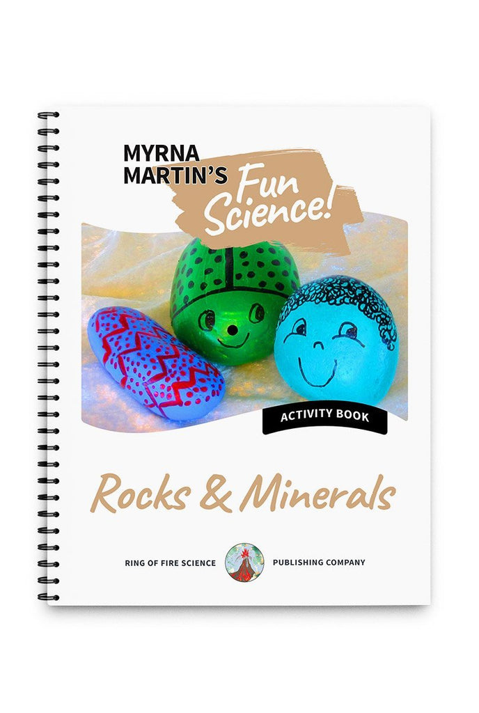 Fun Activity Book - Rocks and Minerals - Kids Fun Science Bookstore