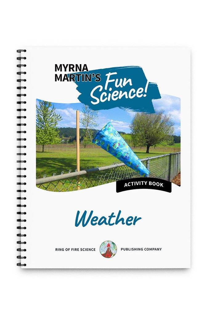 Fun Activity Book - Weather - Kids Fun Science Bookstore