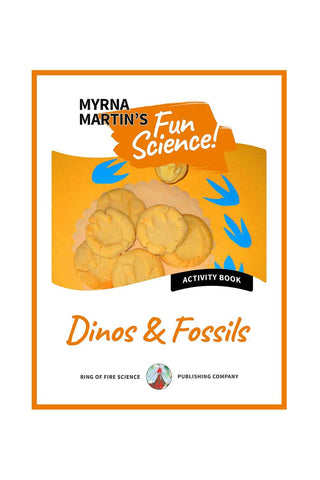 Fun Activity eBook - Dinos & Fossils - Kids Fun Science Bookstore