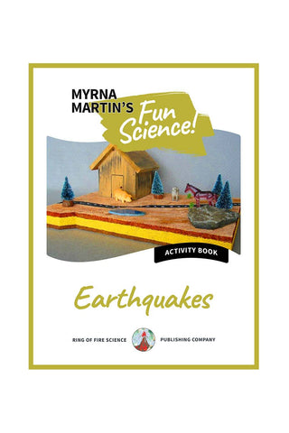 Fun Activity eBook - Earthquakes - Kids Fun Science Bookstore