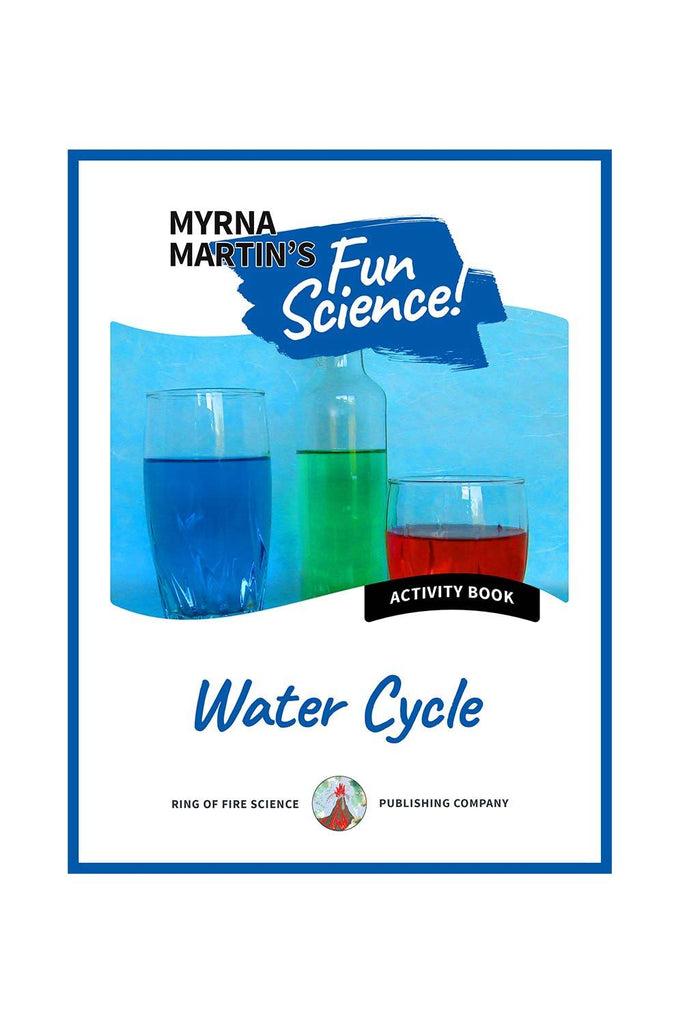 Fun Activity eBook - Water Cycle - Kids Fun Science Bookstore