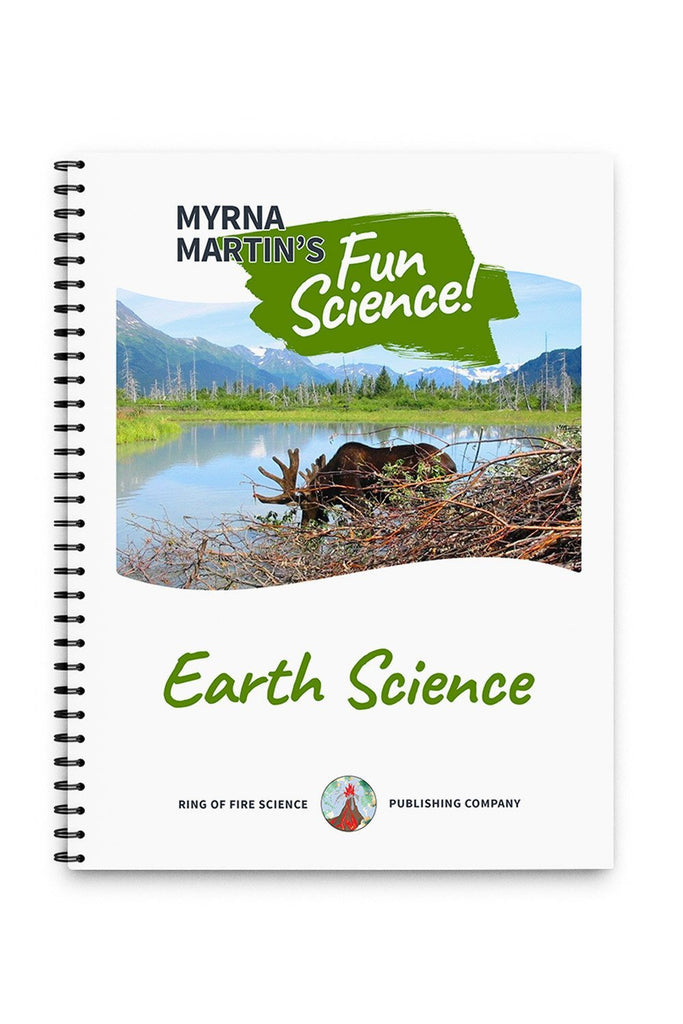 Fun Earth Science Book by Myrna Martin - Kids Fun Science Bookstore