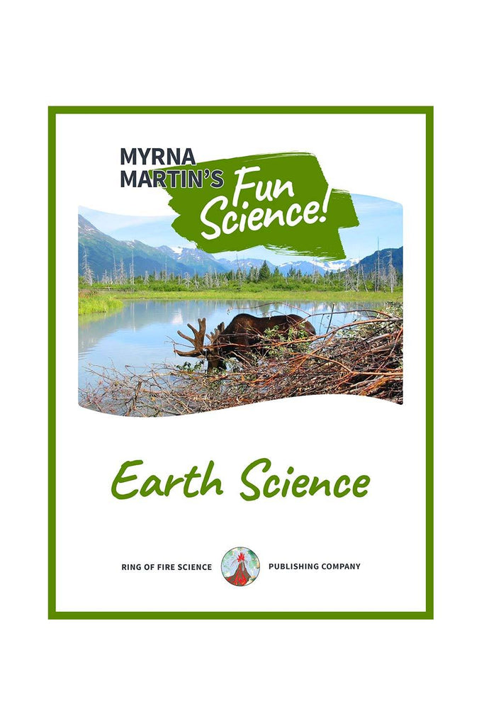 Fun Earth Science e-Book by Myrna Martin - Kids Fun Science Bookstore