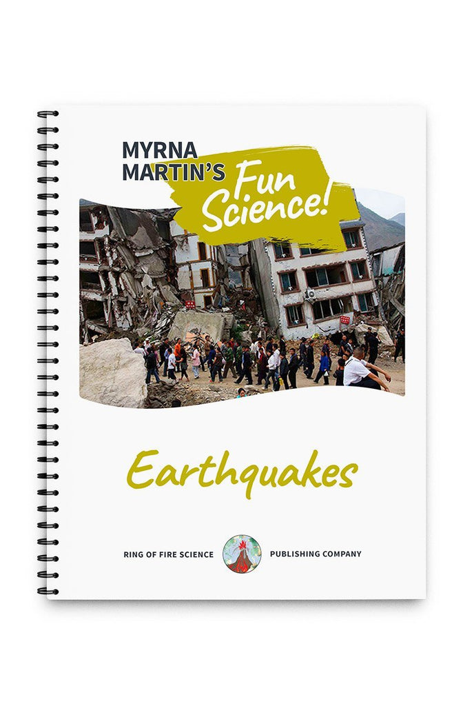 Fun Earthquakes Book by Myrna Martin - Kids Fun Science Bookstore