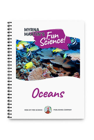 Fun Oceans Book by Myrna Martin - Kids Fun Science Bookstore