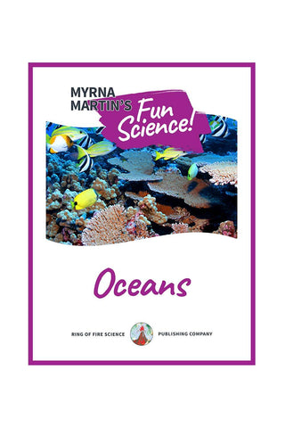 Fun Oceans e-Book by Myrna Martin - Kids Fun Science Bookstore