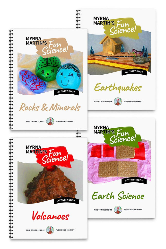 Fun Science Activities Book Package 1 - Kids Fun Science Bookstore