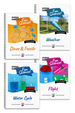 Fun Science Activities Book Package 2 - Kids Fun Science Bookstore