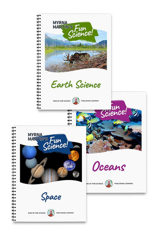 Fun Science Book Package 2 - Kids Fun Science Bookstore