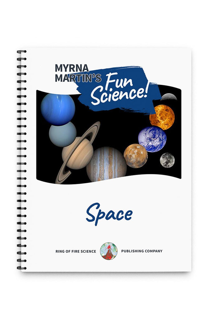 Fun Space Book by Myrna Martin - Kids Fun Science Bookstore