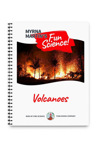 Fun Volcanoes Book by Myrna Martin - Kids Fun Science Bookstore