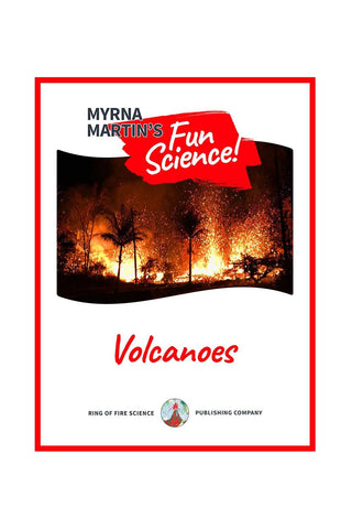 Fun Volcanoes e-Book by Myrna Martin - Kids Fun Science Bookstore