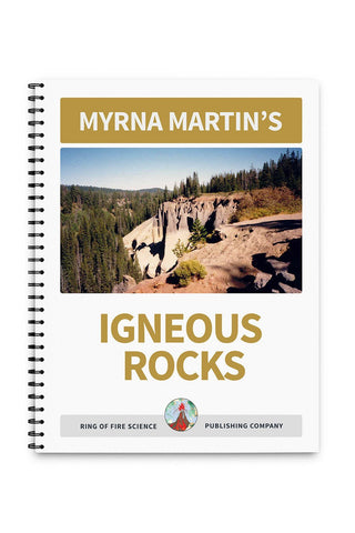 Igneous Rocks Book by Myrna Martin - Kids Fun Science Bookstore