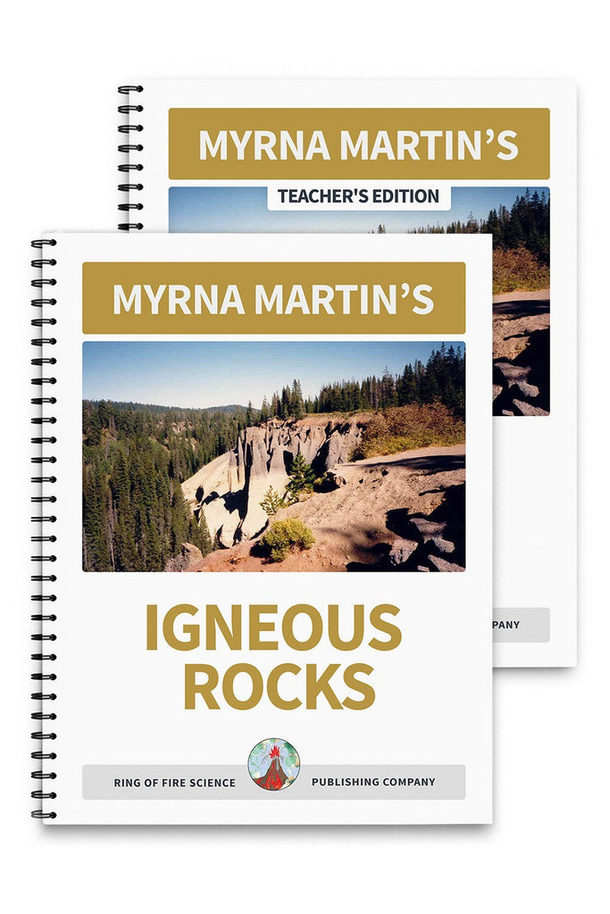 Igneous Rocks Book Plus Teacher's Edition - Kids Fun Science Bookstore