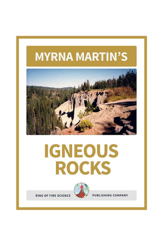 Igneous Rocks e-Book by Myrna Martin - Kids Fun Science Bookstore