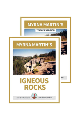 Igneous Rocks e-Book Plus Teacher's Edition - Kids Fun Science Bookstore