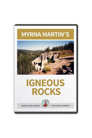 Igneous Rocks Video by Myrna Martin - Kids Fun Science Bookstore