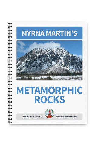 Metamorphic Rocks Book by Myrna Martin - Kids Fun Science Bookstore