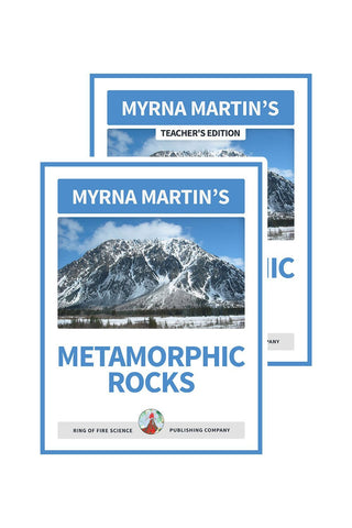 Metamorphic Rocks e-Book Plus Teacher's Edition - Kids Fun Science Bookstore