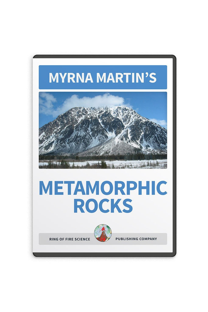 Metamorphic Rocks Video by Myrna Martin - Kids Fun Science Bookstore