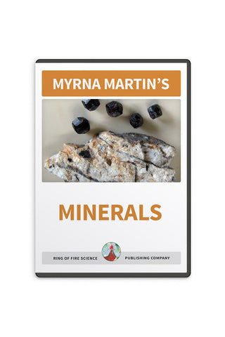 Minerals Video by Myrna Martin - Kids Fun Science Bookstore