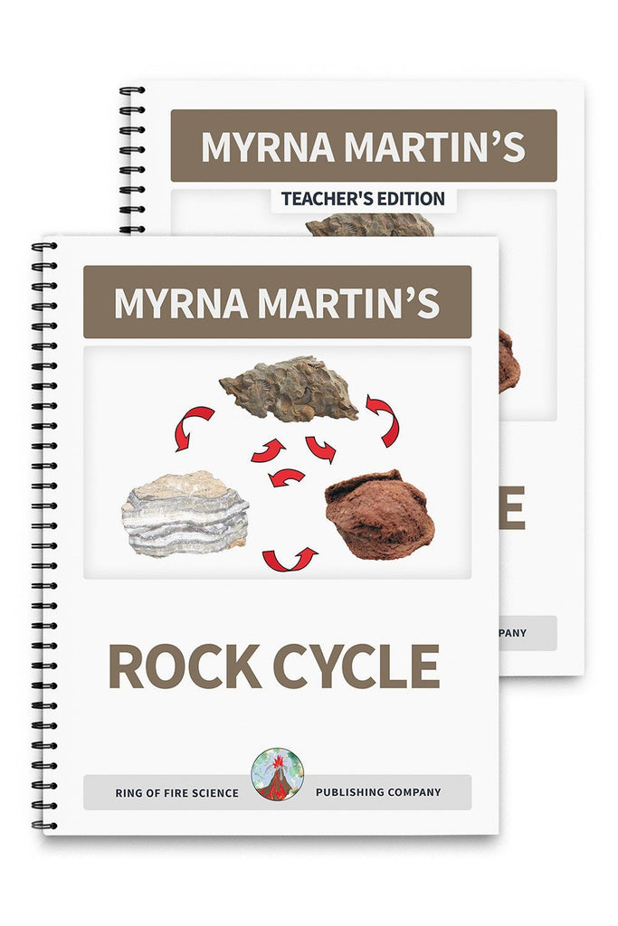 Rock Cycle Book Plus Teacher's Edition - Kids Fun Science Bookstore