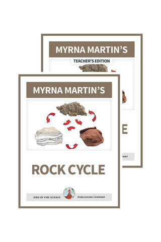 Rock Cycle e-Book Plus Teacher's Edition - Kids Fun Science Bookstore