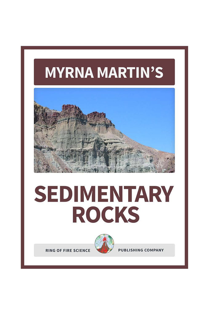 Sedimentary Rocks e-Book by Myrna Martin - Kids Fun Science Bookstore