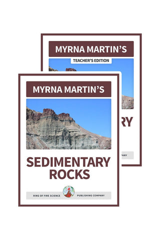 Sedimentary Rocks e-Book Plus Teacher's Edition - Kids Fun Science Bookstore