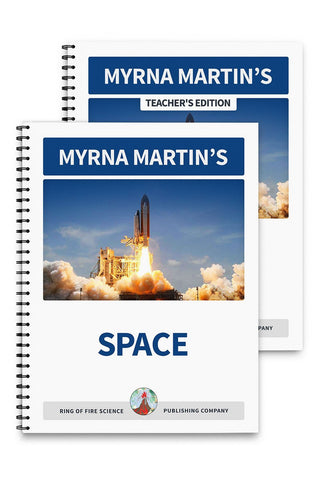 Space Book Plus Teacher's Edition - Kids Fun Science Bookstore