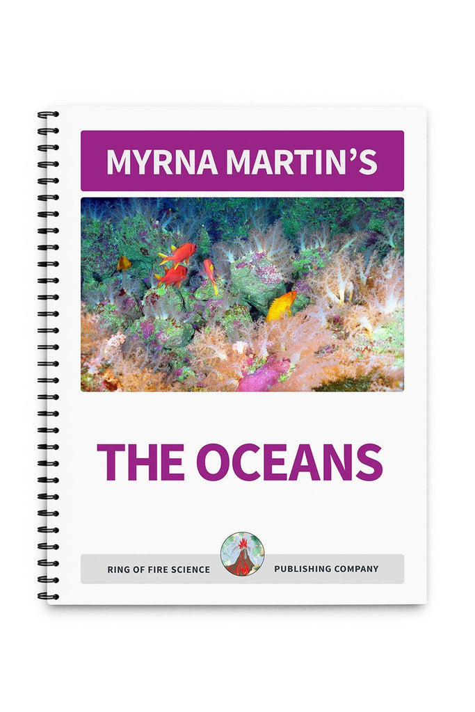 The Oceans Book by Myrna Martin - Kids Fun Science Bookstore