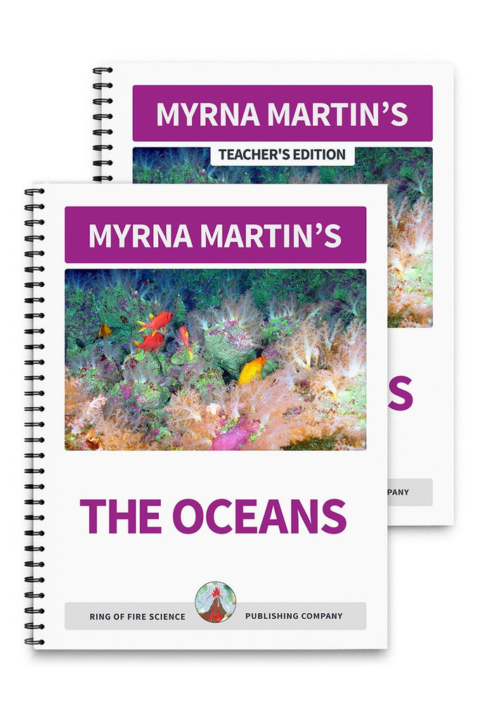 The Oceans Book Plus Teacher's Edition - Kids Fun Science Bookstore