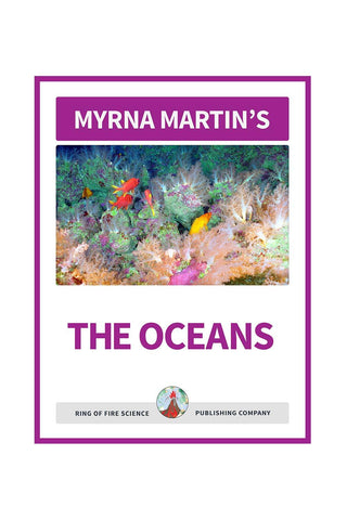 The Oceans e-Book by Myrna Martin - Kids Fun Science Bookstore