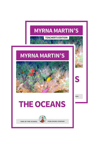 The Oceans e-Book Plus Teacher's Edition - Kids Fun Science Bookstore
